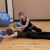 Swan with Foam Roller Exercise