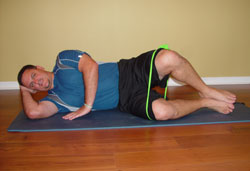 Side-lying Clamshells Pilates Exercise
