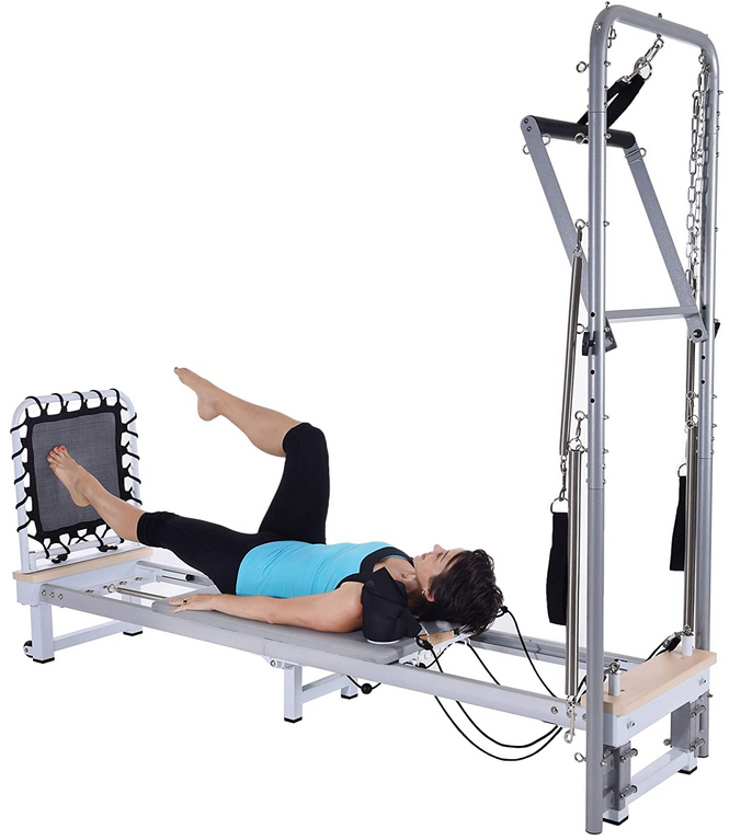 AeroPilates Precision Series Reformer 610 with Optional Cadillac